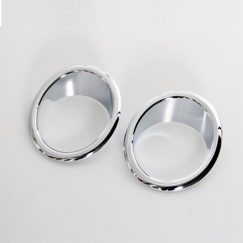 Chrome Front bumper Fog lights ring Cover Trim for BMW X3 2011 2012 2013 f25<br><br>Aliexpress