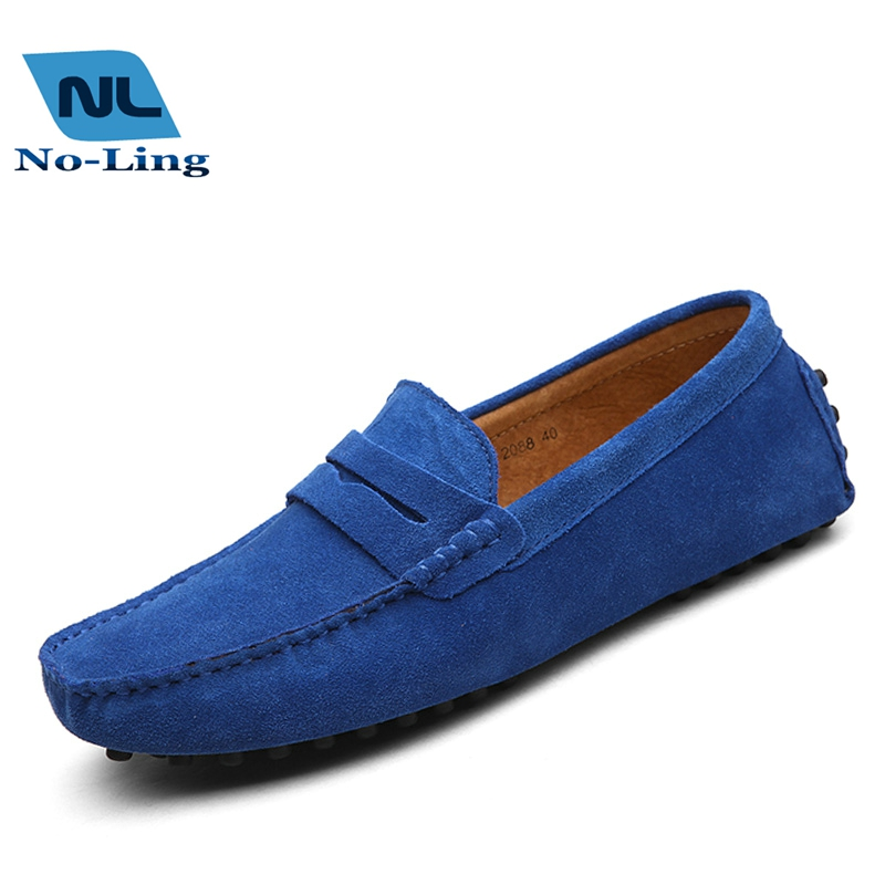 Lazy Casual Zapatos Man Doug Shoes , Genuine Leather Casual Driving Shoes 2016 Hot Mens Designer Loafers Men Flat Shoes Leather