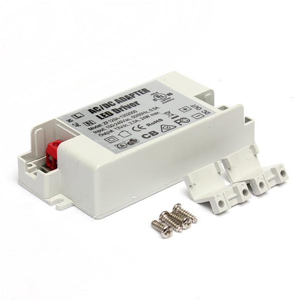 Трансформатор освещения 1 AC/DC 24W 2A 12V