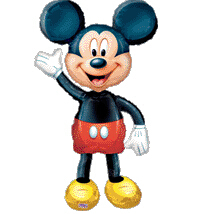 Mickey boy , Minnie girl mouse balloons. Aluminum foil balloon super walking stand party decor - Shenzhen Party Items Co.,Ltd store