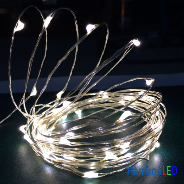 Led String Lights Dc : 5M 50LEDs DC12 DC plug copper wire string lights lighting waterproof LED starry decor holiday ...