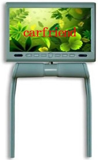 Wholesale 8.5 inches Central Armrest / console car Monitor with DVD MP4 MP3 DIVX WMA JPG GAME USB SD AV-IN swivel 350 degrees