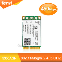 Intel WiFi Link 5300 AGN Mini PCI-E Wireless Card 802.11a/b/g/Draft-n 533AN_MMW 2.4/5.0 GHz 450 Mbps for IBM(China (Mainland))