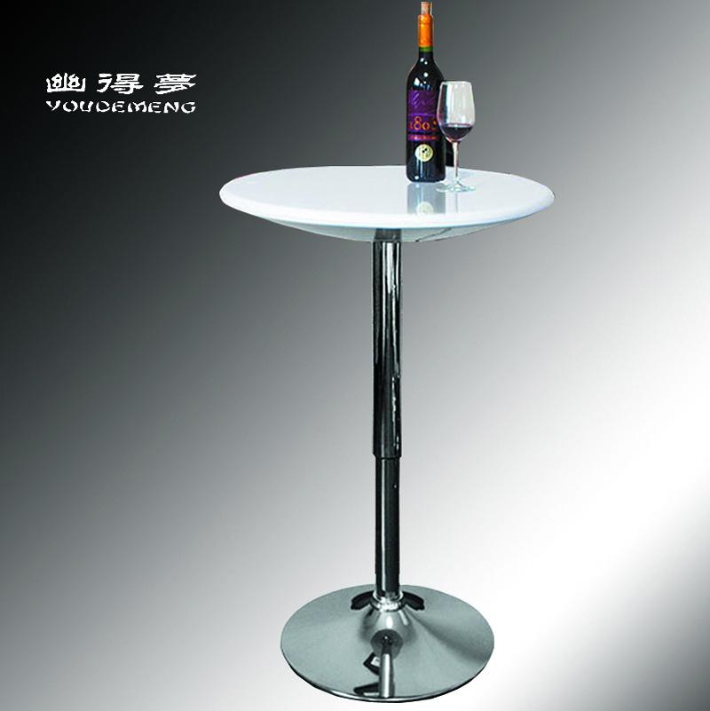 Cheap fashion a dream, quiet bar table tall bar tables high tables round table lift ABS creative computer desk(China (Mainland))
