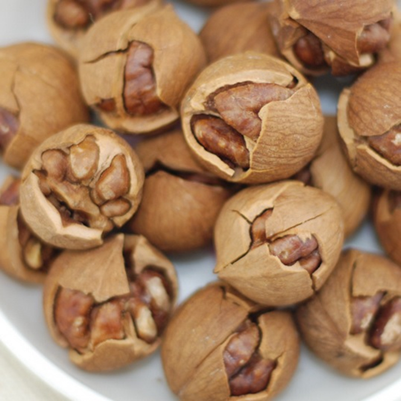 Linan specialty food Hickory nut walnut Butter hand peel pecans Nuts pecan nuts snacks on sale