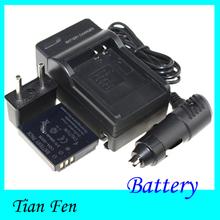 Новое поступление 1 шт. аккумулятор + зарядное устройство CGA-S005 CGA-S005 CGAS005 аккумуляторная литий-ионный аккумулятор для Panasonic