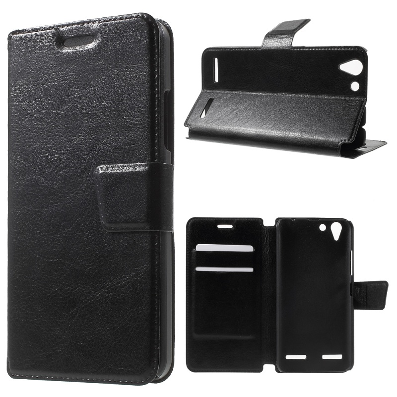 Phone Cases Lenovo Vibe K5 Case Leather Card Holder Cover Protector  -  Tvc Mall Online 3 store