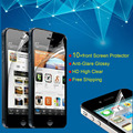 10 Pcs Lot Free Shipping Clear Front Screen Protector