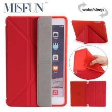 For Ipad MINI 1 2 3 Retina Smart Case PU Leather 5 Shapes Stand TPU Soft Silicon Cover For iPad Mini 7.9 inch Auto Sleep/Wake Up(China (Mainland))