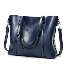 Arauto Da Moda Mulheres de Grande Capacidade Tote Bag de Alta Qualidade PU de Couro Bolsas Femininas Top-Handle Sacos Saco de Ombro Das Mulheres bolsa(China)