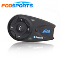 Fodsports V5 5 riders 1200m motorcycle helmet bluetoot intercom headset moto intercomunicador with FM