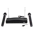Dual Wireless Cordless Dual Channel Microphone Wireless UT4 Type Mic For KTV DJ Karaoke Meeting Dancing