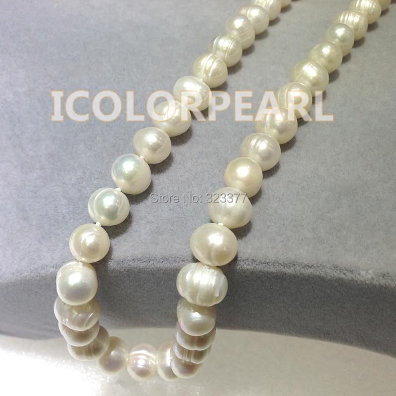 Колье-ошейник ICOLORPEARL 9/10 9-10mm