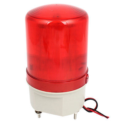 DC 24V Red LED Flashing Industry Signal Tower Warning Light Lamp(China (Mainland))