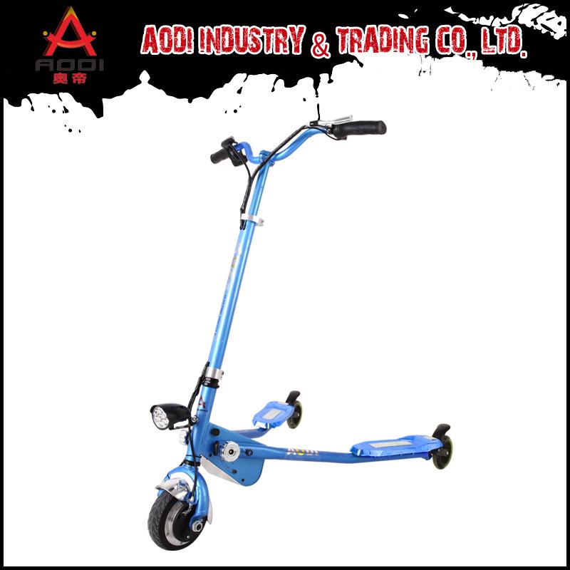 New fashion Three Wheel foldable Electric drifting scooter self balance scooter MADE IN AODI(China (Mainland))