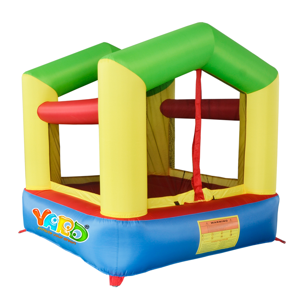 YARD Mini Bounce House Kids Jumping Castle Inflatable Small Trampoline with Blower Special Offer for Hot Zone(China (Mainland))