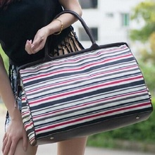 Women handbag 2015 new printing women's travel bags female luggage handbag fashion all-match waterproof travel bag(China (Mainland))