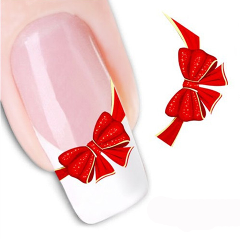 1Pcs Water Transfer Nail Sticker Decoration Manicure Art Nail Tools Water Stickers On Your Nails 3D Sticker For Decals Design(China (Mainland))