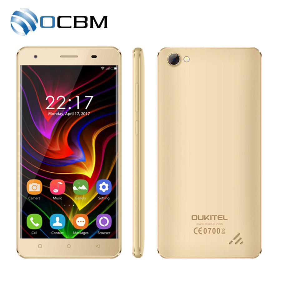 "In Stock Original Oukitel C5 3G WCDMA Mobile Phone MTK6580 Quad Core Android 7.0 5.0""HD 2GB RAM 16GB ROM 5.0MP OTA 2000mAh(China (Mainland))"
