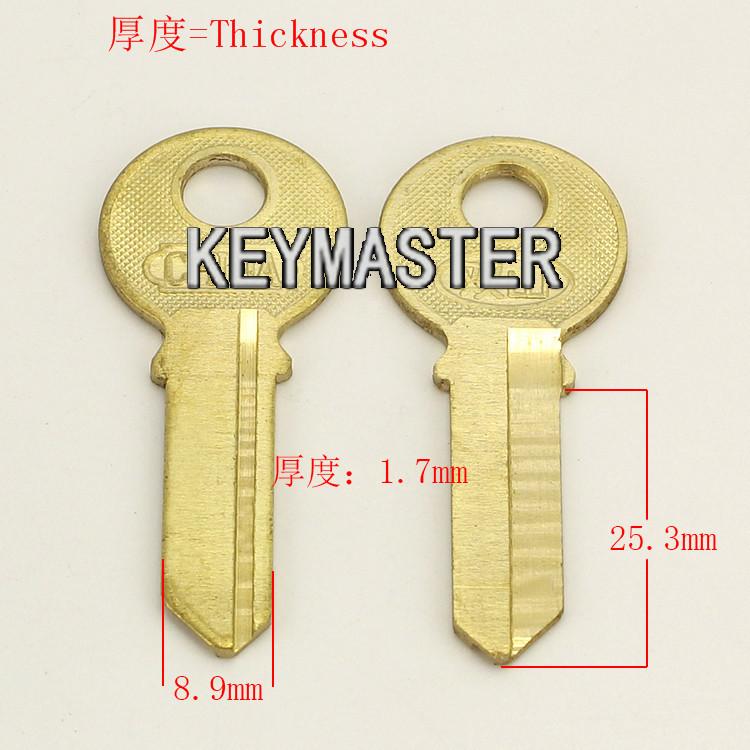 A150 left groove Wholesale Locksmith Keymaster Brass House Home Door Blank Key Blanks Keys<br><br>Aliexpress