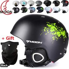 New brand Ski helmet Ultralight and Integrally-molded professional Snowboard helmet men Skating/Skateboard helmet Multi Color(China (Mainland))