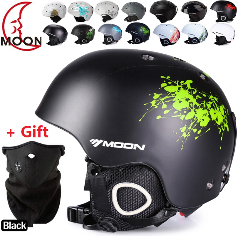 Moon Brand MS-86002 ABS+EPS ski/skiing/Snowboard/Skate/Skateboard/Veneer Helmet  for adult men women 22<br><br>Aliexpress