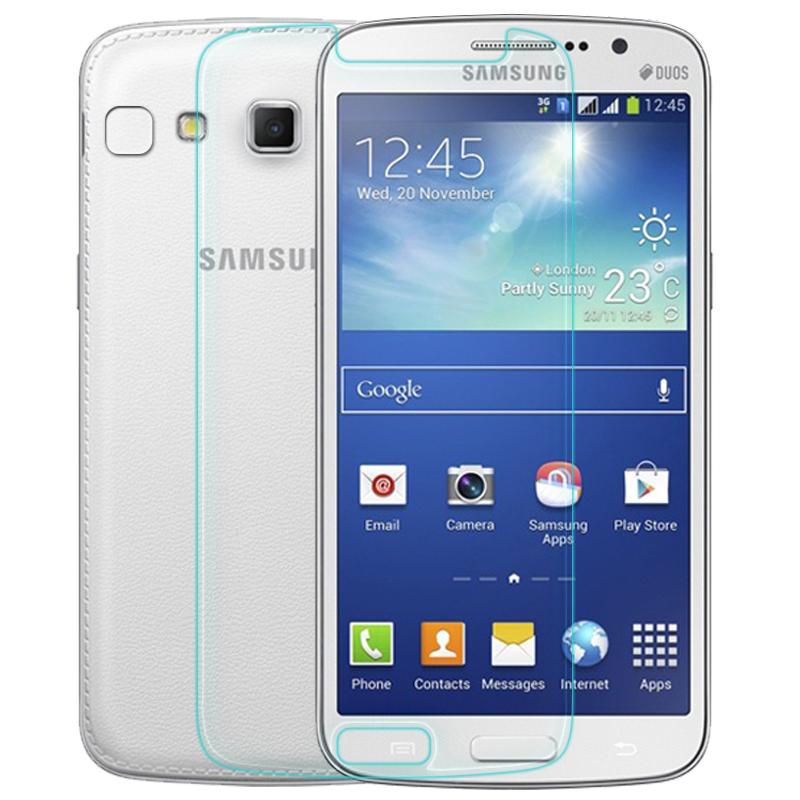 Гаджет  2 pcs/lot Tempered Film for Samsung Galaxy Grand2 G7106 9H 2.5d Hard Anti Explostion Fingher Print 0.3mm High Transparent None Телефоны и Телекоммуникации