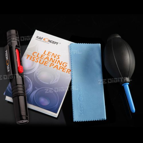4in1 Lens Cleaning Lens Dust Pen Air Blower Cloth Paper Cleaner Kit For Canon Nikon Sony DSLR Camera Free Shipping 0167(China (Mainland))