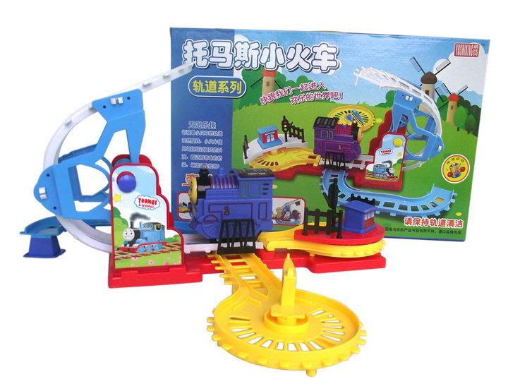 pista de corrida brinquedo toy car railway trains Thomas and his friends Brinquedos truck pixar car diecast toy free shipping(China (Mainland))