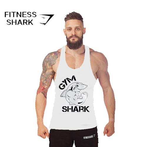 Gymshark tank top men summer style building vest camisetas