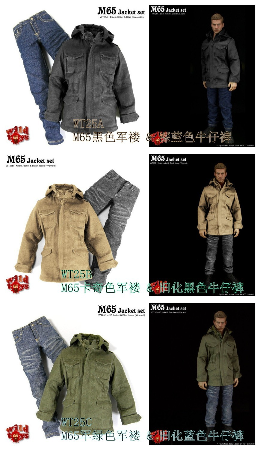 Male doll clothes,WT25  for1/6 12doll Dress up, clothes Suitable for DIY Soldier model , head shape and body are not included<br><br>Aliexpress