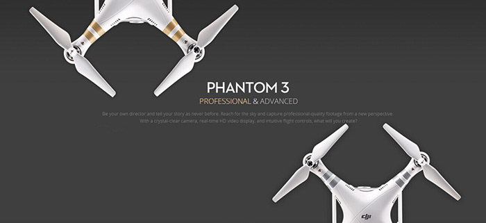 Freeshipping DJI Phantom 3 Advanced drone with 1080p Camera rc helicopter with Brushless Gimble GPS system RC Quadcopter