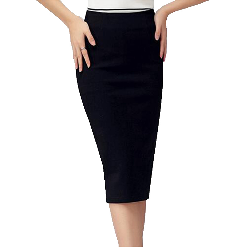 Tight Long Black Skirt - Dress Ala