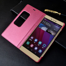NEW Original Huawei P8 Flip Leather Mobile Phone Bag Case Accessories For huawei ascend P8 Cover