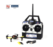 F12030 SHUANGMA 9128 2.4G Quadrocopter Rechargeable Remote Control Aircraft 4CH 4Channel Flying Saucer Ladybug (China (Mainland))