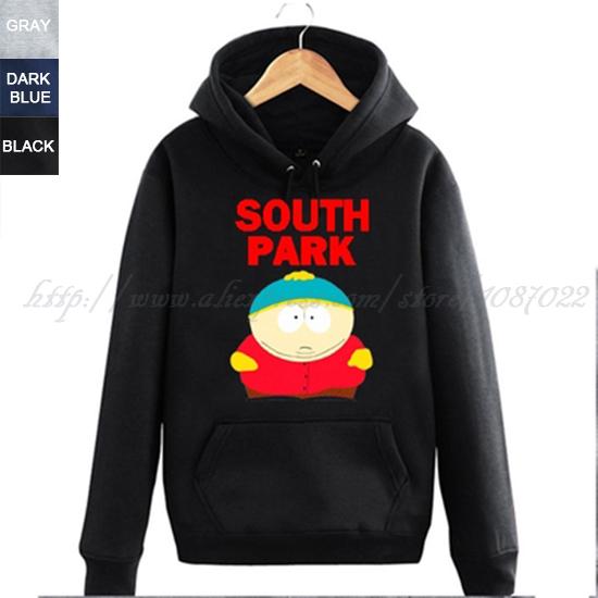 South Park hippie control no esta gordo fuertecito Eric Theodore Cartman couple clothes man sports hoodies(China (Mainland))