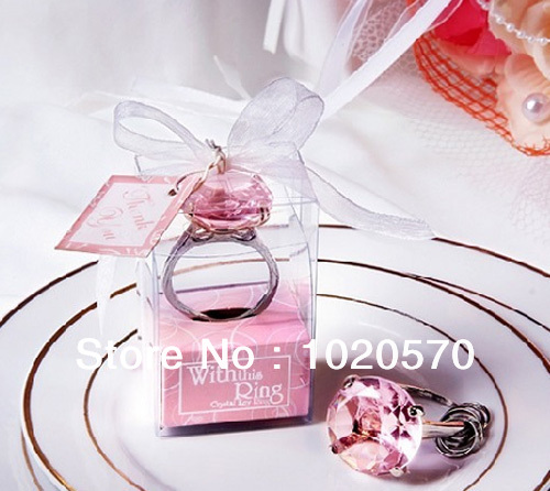 wedding ring keychain