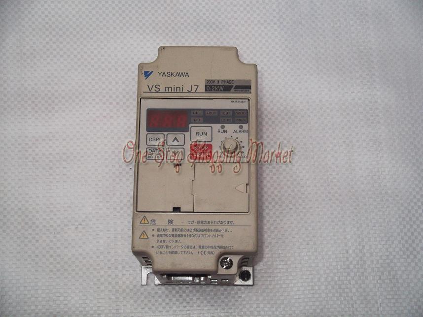 Yaskuwa CIMR-J7AA20P2 220V 0.2KW 6 months warranty<br><br>Aliexpress