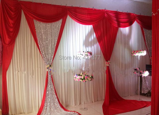 Decoracin para matrimonios 2015 for Cortinas en blanco
