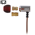 KZ ED9 Super Bowl Tuning Nozzles Earphone In Ear Monitors HiFi Earbuds With Microphone Transparent Sound