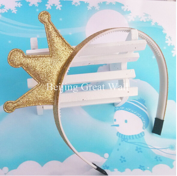 1pc 5 colors New Design Angle Headband Shiny Crown Accessories Children Accessories Baby Hair Accessories Girls Hair Band(China (Mainland))