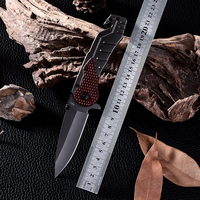 Buy X31B New Design Cold Steel Survival Tactical Folding Knife D2 Navajas Cs Go Hunting Combat Knives Facas Taticas Free Shipping cheap