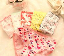 for girls underwear child briefs panties baby  girl panties wholesale high quality short panties children under wear 12pcs/lot