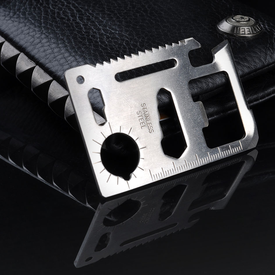 11 In 1 Tool Multifunctional Knife Credit Card Knife Tactical Pocket Knife Hunting Fillet Knife Survival Kit Free Shipping<br><br>Aliexpress