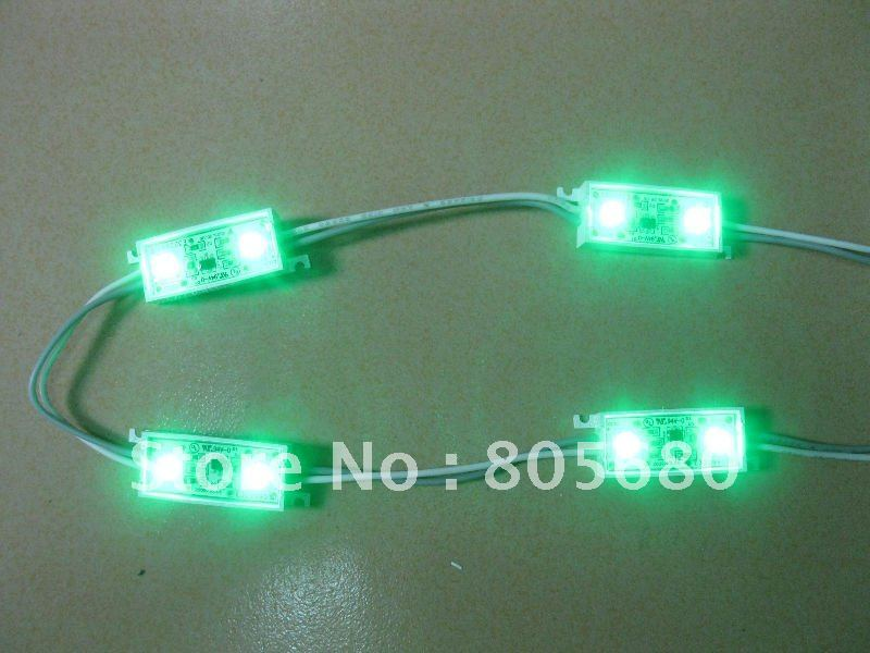 LED Module With 2 pcs SMD 3528 Taiwan Chip LED, Waterproof IP67, Good for Sign and Back Lighting, Free Shipping<br><br>Aliexpress