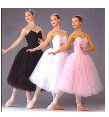 2016 Hot New Adult Romantic Ballet Tutu Long Skirt Ballerina Professional Dance Competition/Practice Costumes Girls Party Dress(China (Mainland))