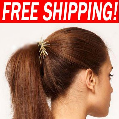 Punk style hair bands pins 2012 new arrival fashion jewellery har-a10(China (Mainland))