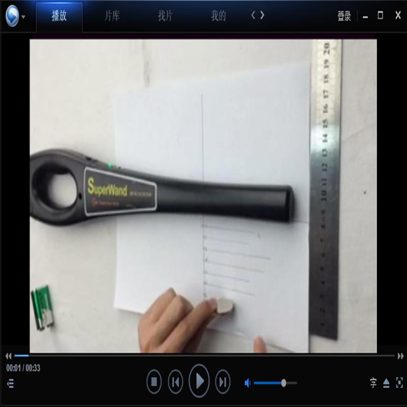Фотография portable high sensitivity Low Power Alarming handheld metal detector Pinpointer