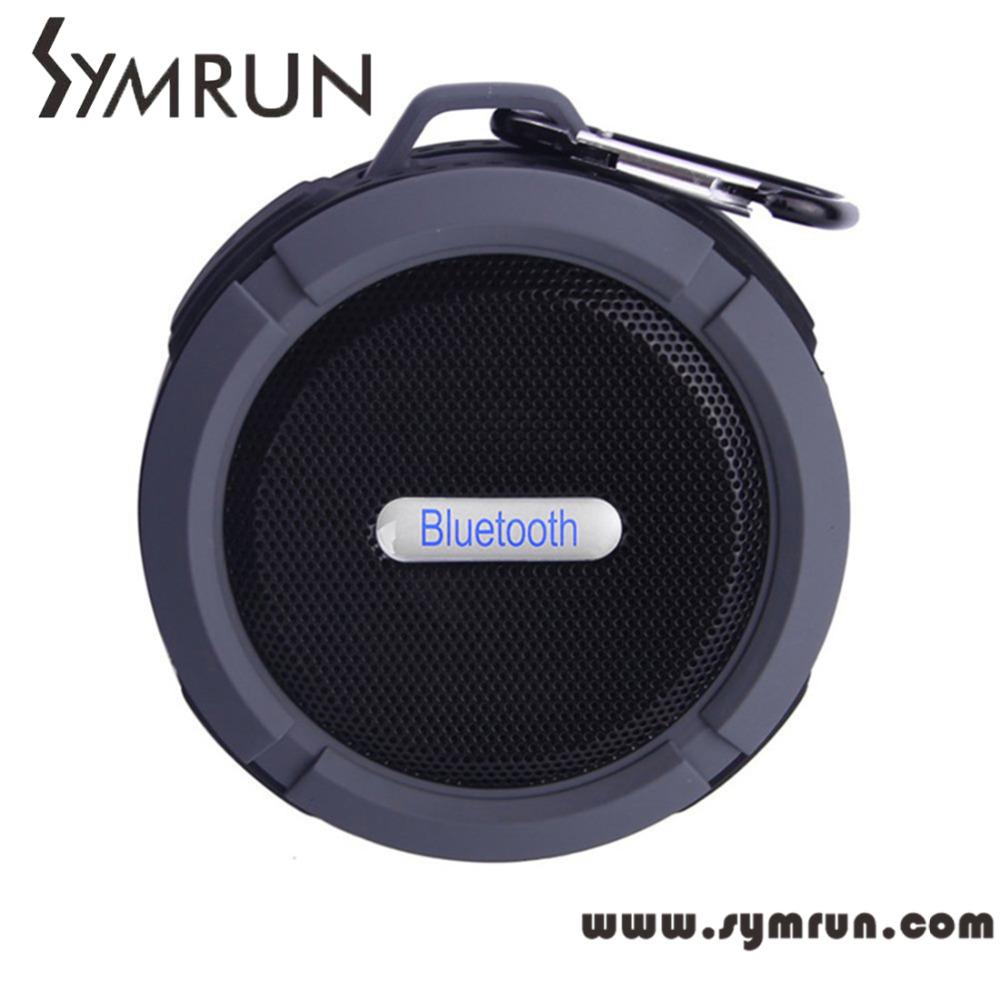 Symrun C6 Wireless Bluetooth Speaker For Samsung Htc Iphone Waterproof Bluetooth portable wireless bluetooth stereo speaker(China (Mainland))