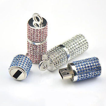 Retail genuine 2G/4G/8G/16G/32G pendrive flash memory stick usb flash drive column cylinder jewelry pen drive Drop Free shipping